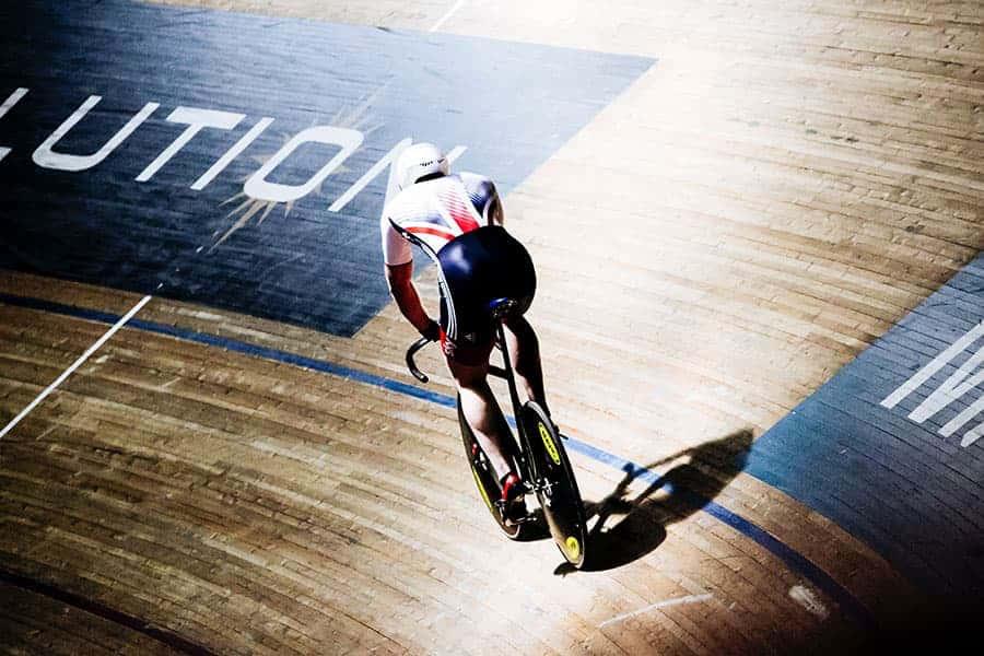 Team GB cyclist